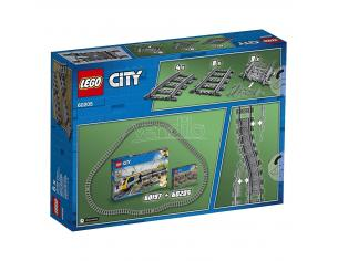 LEGO CITY TRENI 60205 - BINARI