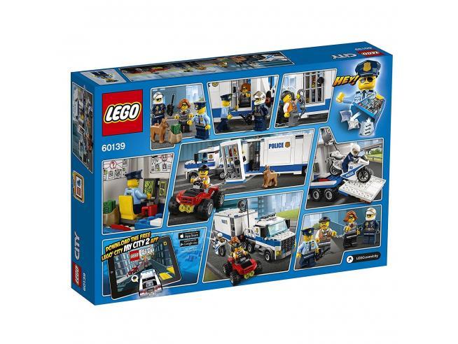 LEGO CITY POLIZIA 60139 - CENTRO DI COMANDO MOBILE