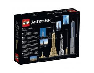 LEGO ARCHITECTURE 21028 - SET DI COSTRUZIONI NEW YORK CITY