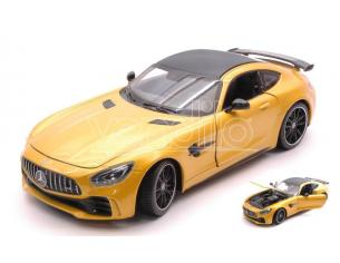 Welly WE24081Y MERCEDES AMG GT R METALLIC YELLOW 1:24-27 Modellino
