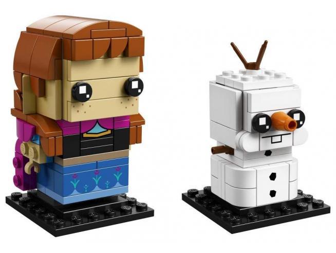 LEGO BRICKHEADZ 41618 - FROZEN: ANNA E OLAF