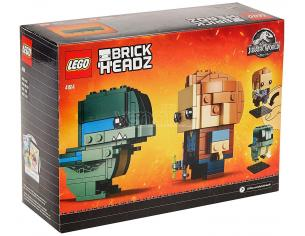 LEGO BRICKHEADZ 41614 - JURASSIC WORLD: OWEN E BLUE