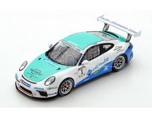 Spark Model SG262 PORSCHE 911 GT3 CUP N.1 GERMANY CHAMPION 2017 DENNIS OLSEN 1:43 Modellino