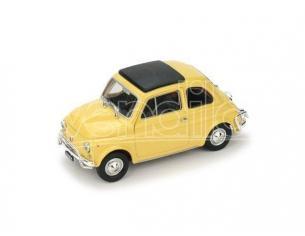 Brumm BM0465-05 FIAT 500 L 1968-72 CHIUSA GIALLO THAITI 1:43 Modellino