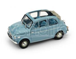 Brumm BM0342-04 FIAT 500 NORMALE APERTA 1957 CELESTE CHIARO 1:43 Modellino
