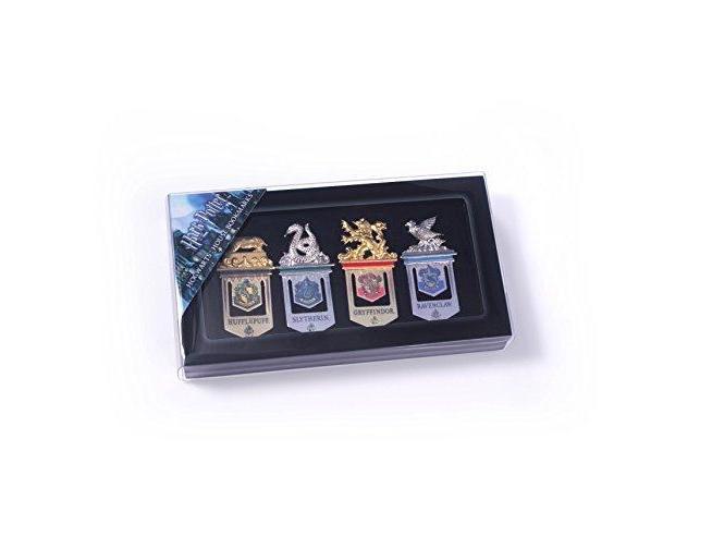 Set Segnalibri delle 4 Case di Hogwarts Harry Potter Noble Collection