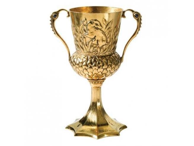 Coppa Tassorosso Replica Harry Potter 13 cm Noble Collection
