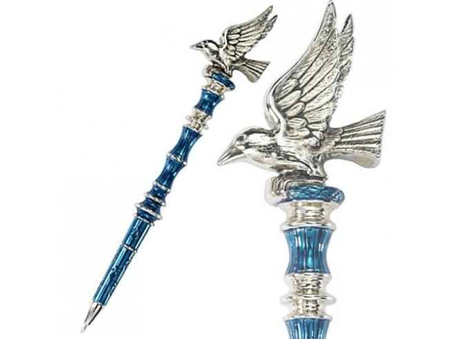 Penna Corvonero Placcato Argento Harry Potter Noble Collection