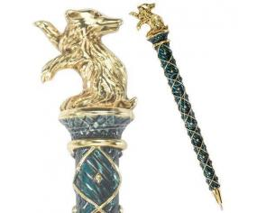Harry Potter  Penna Tassorosso Placcato Oro  Noble Collection