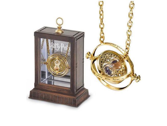 Giratempo Medaglione di Hermione Granger Harry Potter Noble Collection