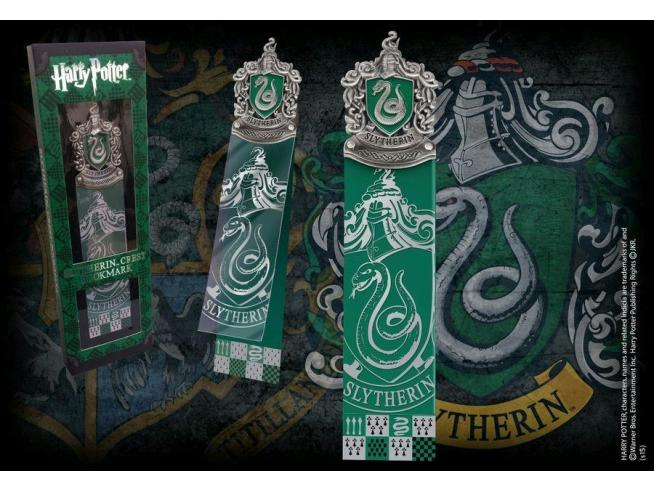 Segnalibro con Stemma Serpeverde Harry Potter Noble Collection