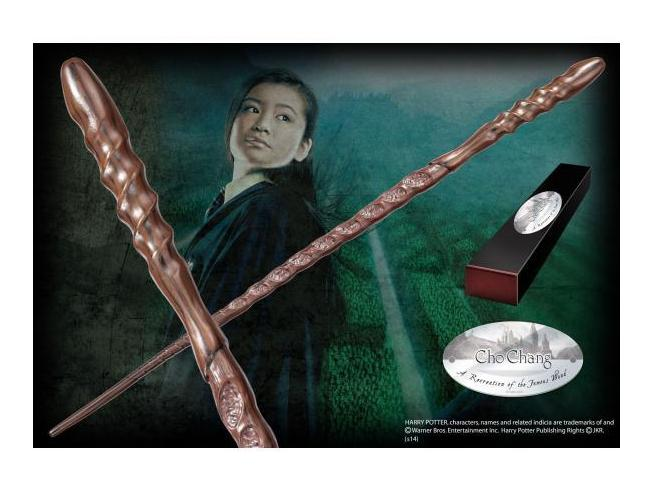 Harry Potter  Bacchetta Magica Cho Chang  Character Noble Collection