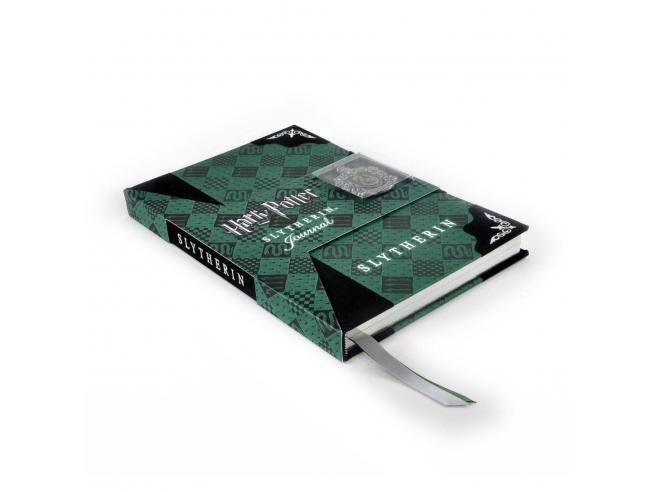 Agenda Diario con Stemma Serpeverde Harry Potter Noble Collection