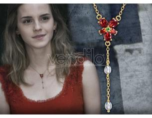 Harry Potter Collana Hermione Granger Con Cristalli Replica 1:1 Noble Collection