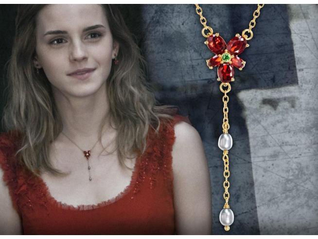 Collana Hermione Granger con Cristalli Replica 1:1 Harry Potter Noble Collection