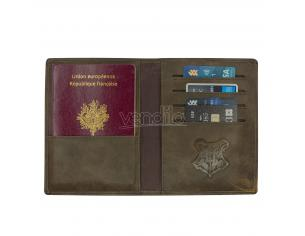 Portafoglio Porta Passaporto Hogwarts Harry Potter Noble Collection