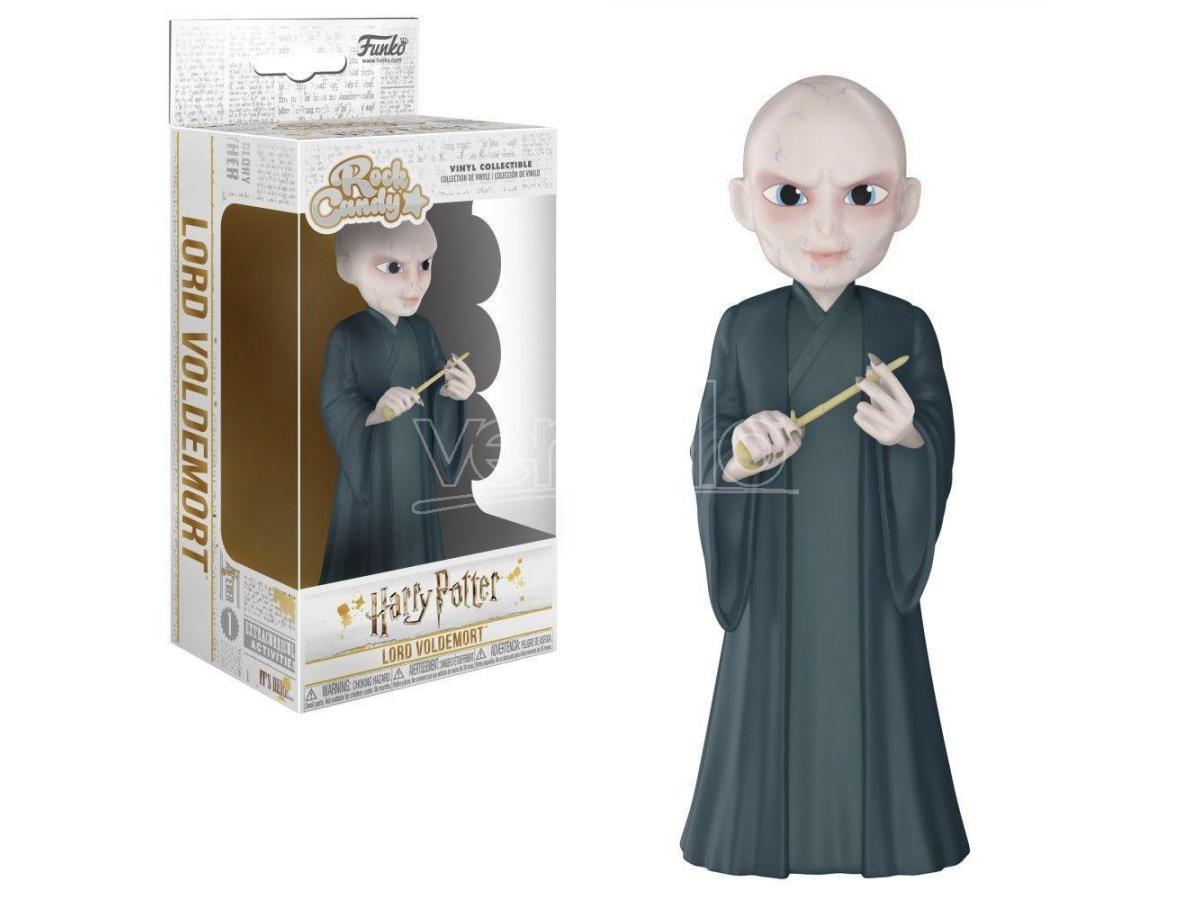 Funko Harry Potter POP Rock Candy Vinile Figura Lord Voldemort 15 cm