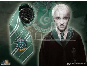 Harry Potter Cravatta Serpeverde Ufficiale Cinereplicas