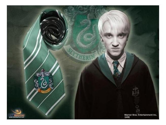 Cravatta Serpeverde Harry Potter Ufficiale Cinereplicas