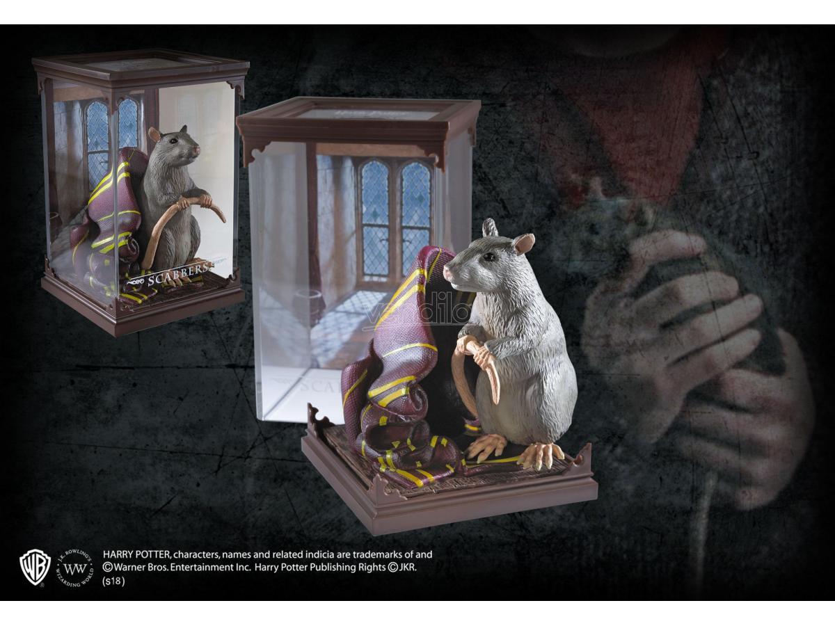 Creature Magiche Statua Crosta Ratto Harry Potter 18 cm Noble Collection