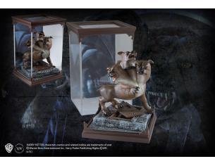 Creature Magiche Statua Fluffy Cane a Tre Teste Harry Potter 18 cm Noble Collection