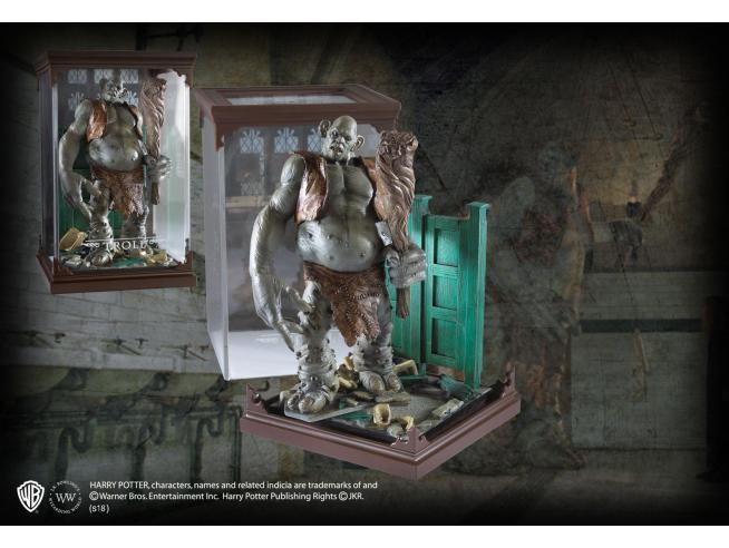 Harry Potter Creature Magiche Statua Troll 18 Cm Noble Collection