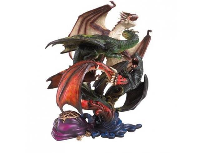 Statua dei Draghi della Prima Prova Harry Potter Noble Collection