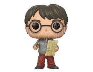 Harry Potter  Funko  Pop Movies Vinile Figura Harry Con Mappa Del Malandrino 9 Cm