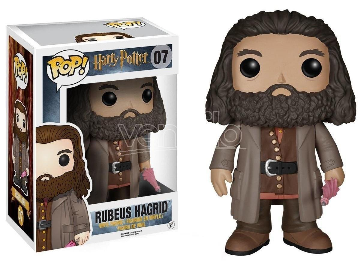 Harry Potter  Funko  Pop Movies Vinile Figura Ruebus Hagrid 15 Cm