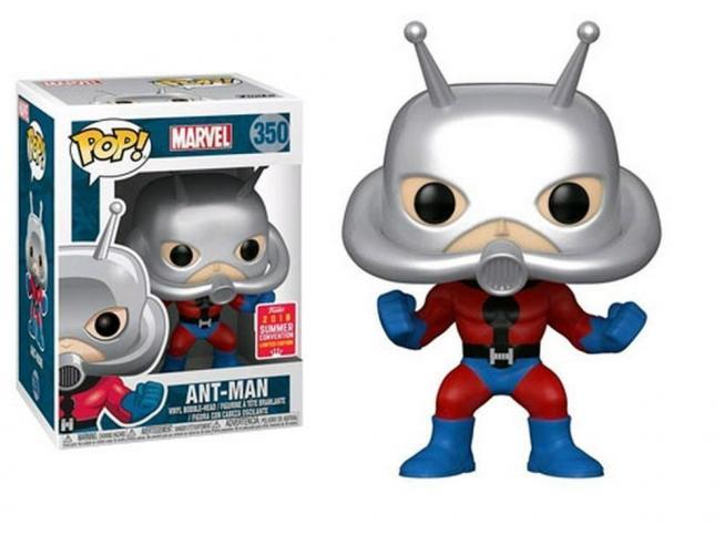 Funko Marvel POP Super Heroes Vinile Figura Ant-Man 9 cm SDCC Esclusiva