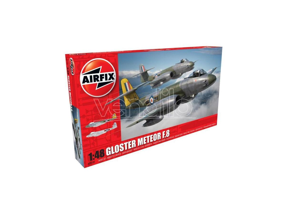 Airfix AX9182 GLOSTER METEOR F8 KIT 1:48 Modellino