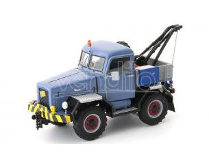 Autocult ATC11008 KRAMER U800 ALLRAD ABSCHLEPP-LKW PASTEL 1959 BLUE/GREY 1:43 Modellino