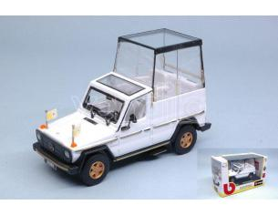 BBURAGO BU31018 PAPAMOBILE MERCEDES 230 GE 1980-2002 1:43 Modellino