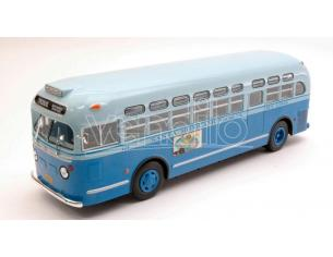 IXO MODEL BUS007 GENERAL MOTORS TDH 3714 1955 LIGHT GREEN/WHITE 1:43 Modellino
