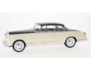 Busch BOS124 MERCEDES 300B PININFARINA 1955 BEIGE/DARK BROWN 1:18 Modellino