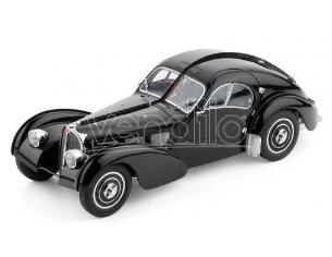 BOS MODEL BOS298 BUGATTI T57 SC ATLANTIC BLACK 1:18 Modellino