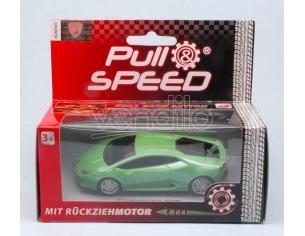 Cararama Motorama CAR17170 LAMBORGHINI HURACAN GREEN PULL SPEED 1:43 Modellino