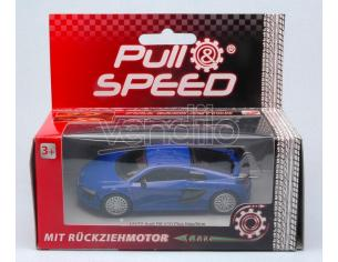 Cararama Motorama CAR17172 AUDI R8 V10 PLUS BLUE PULL SPEED 1:43 Modellino