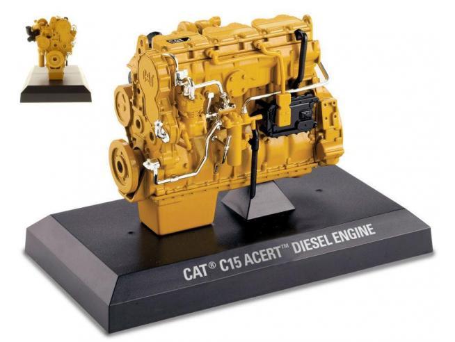 Diecast Master DM85139 CAT G15 ACERT DIESEL ENGINE 1:12 Modellino