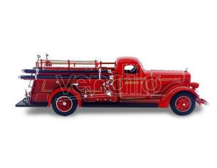 Hot Wheels LDC43007 AMERICAN LAFRANCE 1939 FIRE TRUCK 1:43 Modellino