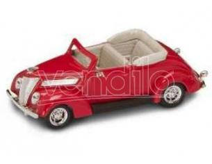 Hot Wheels LDC94230R FORD V 8 CONVERTIBLE 1937 RED 1:43 Modellino