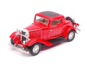 Hot Wheels LDC94231R FORD 3-WINDOW COUPE' 1932 RED 1:43 Modellino