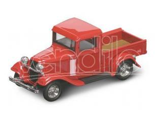 LUCKY DIE CAST LDC94232R FORD PICK UP 1934 RED 1:43 Modellino