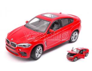 RASTAR RAT56600R BMW X6 M 2018 RED 1:24 Modellino