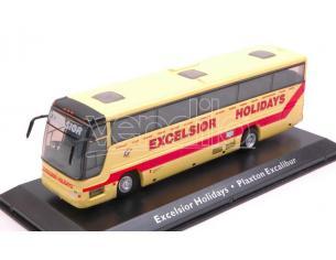 Modellino EDIJE11 AUTOBUS VOLVO EXCELSIOR HOLIDAYS PLAXTON EXCALIBUR cm 15,5 1:76 Modellino