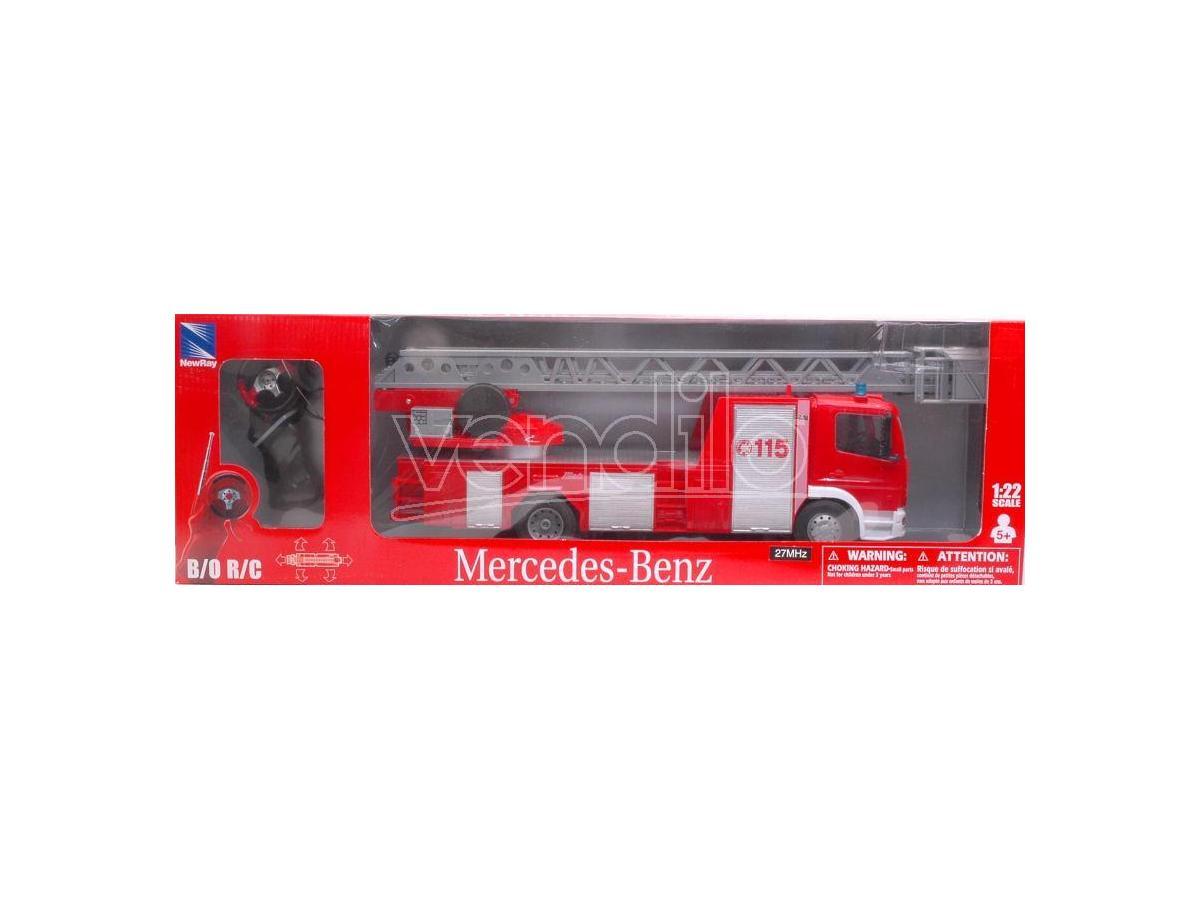 New Ray NY88133 MERCEDES VIGILI DEL FUOCO RADIOCOMANDO 1:22 Modellino