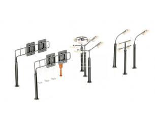 SIKU SK5594 CARTELLI STRADALI E LAMPIONI Modellino