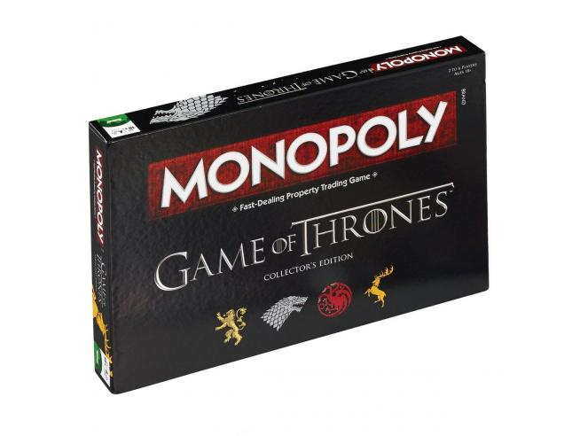 Gioco da Tavolo Monopoly Game of Thrones Versione Inglese Winning Moves