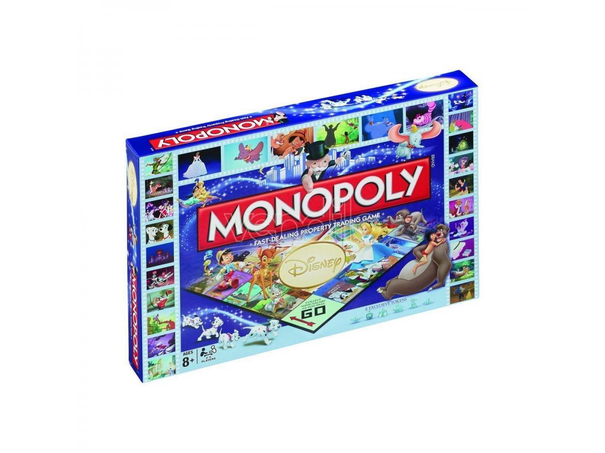 Gioco da Tavolo Monopoly Disney Classic Versione Inglese Winning Moves