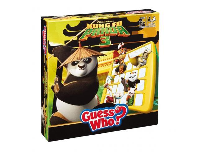 Gioco da Tavolo Indovina Chi Kung Fu Panda Versione Inglese Winning Moves